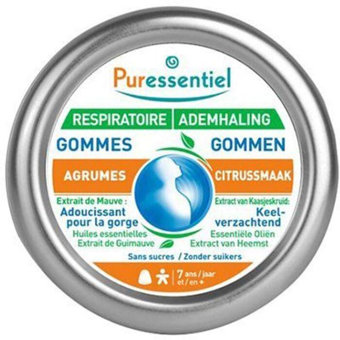 Pur essentiel respiratoire gommes adoucissantes agrumes 45g Puressentiel-221514