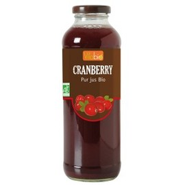 Pur jus de cranberry bio - 500 ml - divers - vitabio -140403