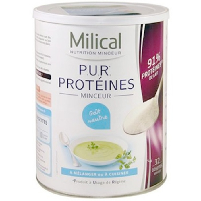 Pur proteines - 400 g Milical-195996