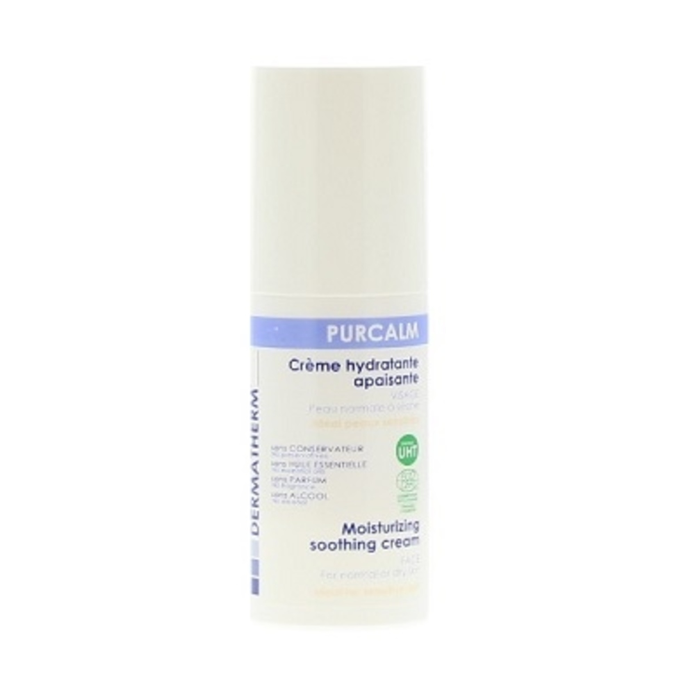 Purcalm crème hydratante apaisante - 50.0 ml - famille - dermatherm Crème Hydratante Apaisante-108457