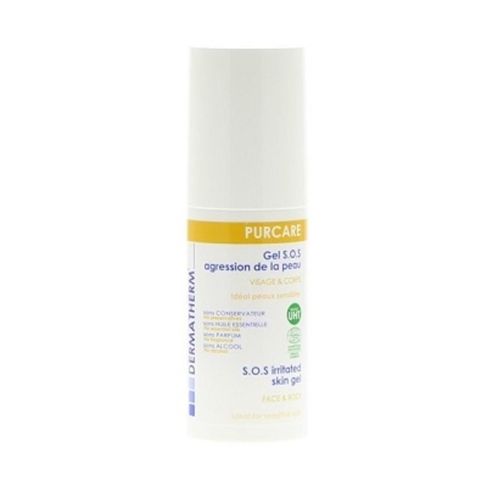 Purcare gel sos au miel - 50.0 ml - famille - dermatherm Agressions de la peau-108474