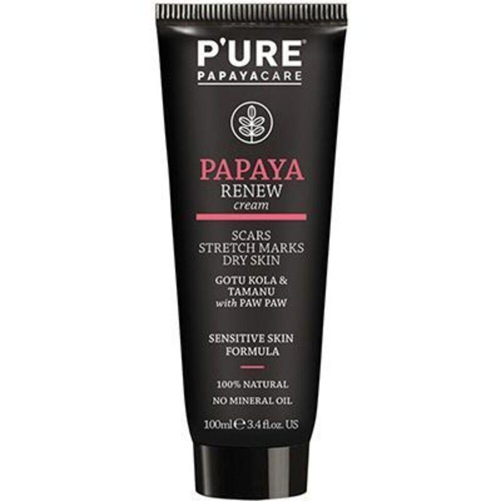 Pure papayacare crème papaya renew 100ml - pure papayacare -219705