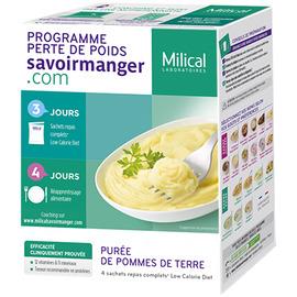 Purée de pommes de terre - 4 sachets - milical -204872