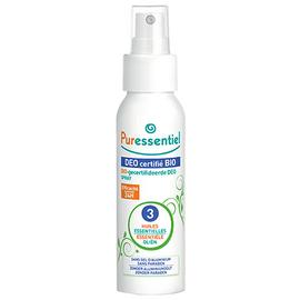 Puressentiel déo certifié bio spray - 50.0 ml - déo certifié bio - puressentiel -109930