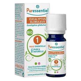 Puressentiel huile essentielle eucalyptus globuleux bio - 10.0 ml - huiles essentielles - puressentiel -130698