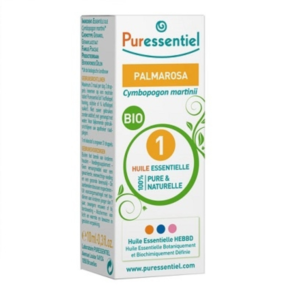 Puressentiel huile essentielle palmarosa - 10 ml - 10.0 ml - huiles essentielles - puressentiel -125951