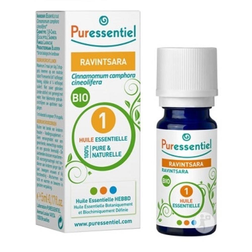 Puressentiel huile essentielle ravintsara bio - 5ml - 5.0 ml - huiles essentielles - puressentiel -130114