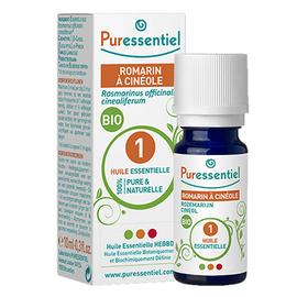Puressentiel huile essentielle romarin cinéole - 10ml - 10.0 ml - huiles essentielles - puressentiel -130707
