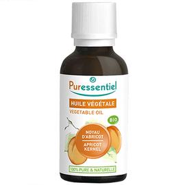 Puressentiel huile végétale noyau d'abricot bio - 30ml - puressentiel -204983