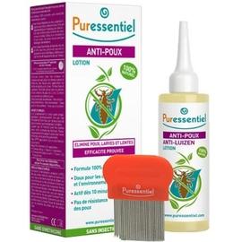 Puressentiel lotion anti-poux + peigne - 100.0 ml - poux - puressentiel -130435