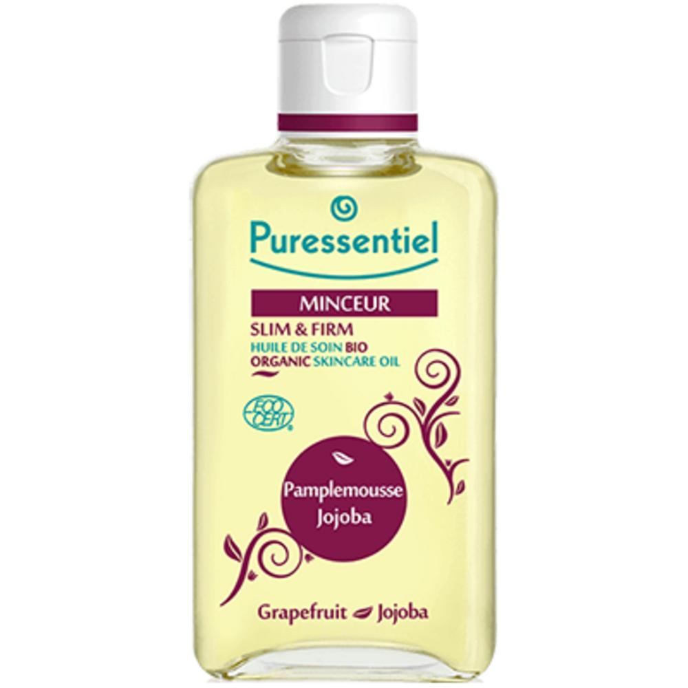 PURESSENTIEL Minceur Huile de Soin Bio - 100.0 ml - Massage bio - Puressentiel PAMPLEMOUSSE - JOJOBA-13338