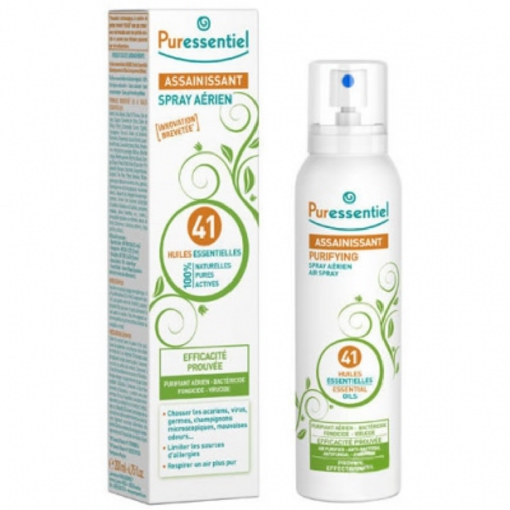 PURESSENTIEL Spray Assainissant - 200 ml - 200.0 ml - Assainissant - Puressentiel -13314