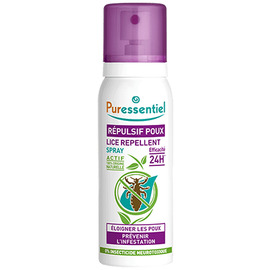 Puressentiel spray répulsif poux - 75.0 ml - poux - puressentiel -130437