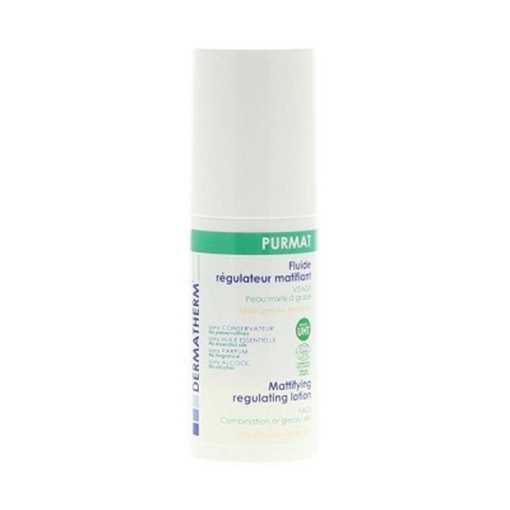 Purmat fluide régulateur matifiant - 50.0 ml - famille - dermatherm Fluide Régulateur Matifiant-108470