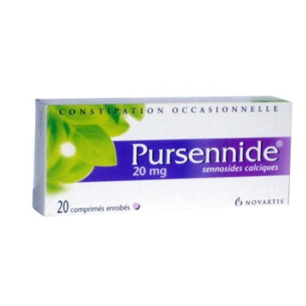 Pursennide 20 mg - 20 comprimés enrobés - novartis -193001