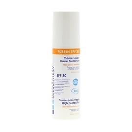 Pursun spf30 - 150.0 ml - solaire - dermatherm Crème solaire haute protection visage et corps-130160