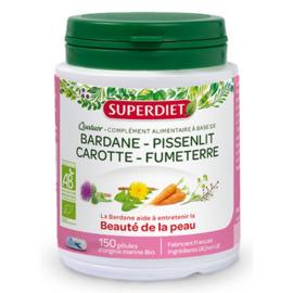 Quatuor beauté de la peau bio 150 gélules - 150.0 unites - les quatuors - super diet -130012