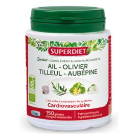 Quatuor bio cardiovasculaire 150 gélules - 150.0 unites - les quatuors - super diet -130011
