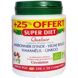 Quatuor circulation +25% offert - super diet -190245