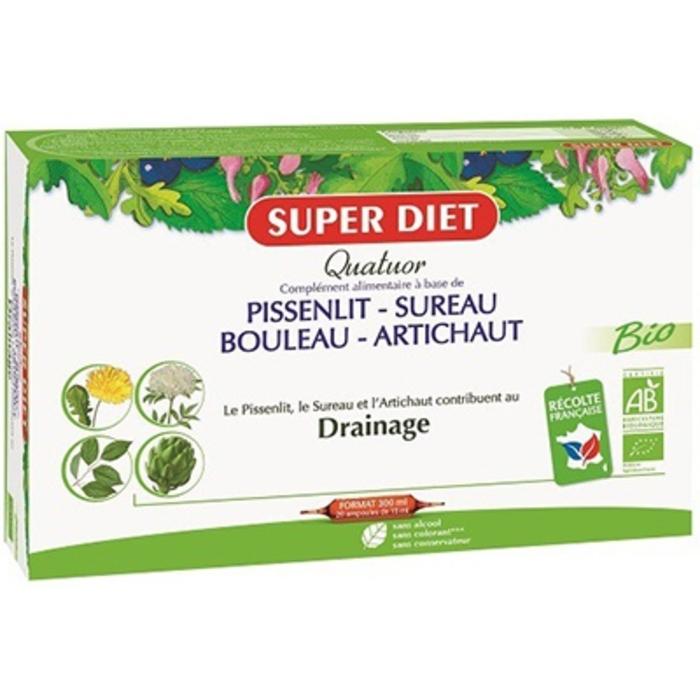 Quatuor drainage Super diet-190244