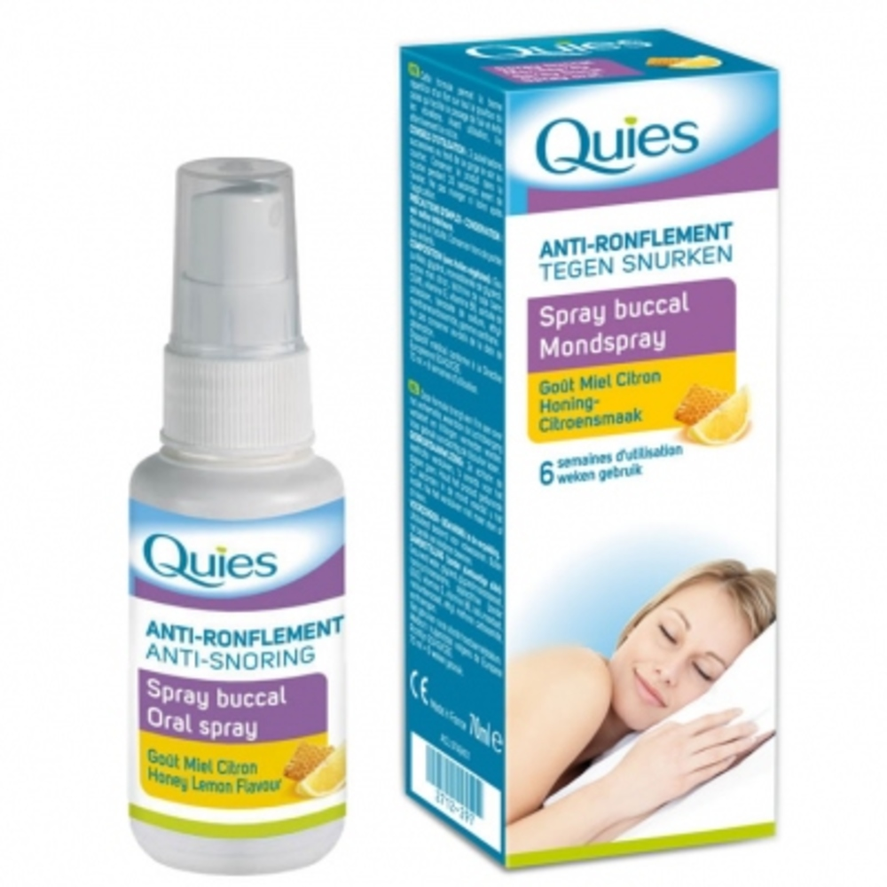 Quies anti-ronflement spray buccal - 70.0 ml - quies -143899