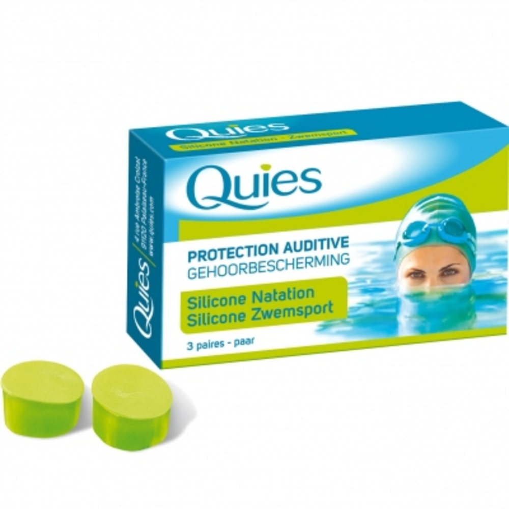 Quies protection auditive silicone natation - quies -145248