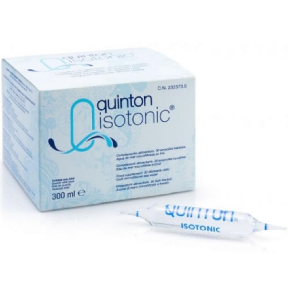 Quinton isotonic - 30.0 unites - soins marins - quinton Equilibre de la nutrition cellulaire-10760