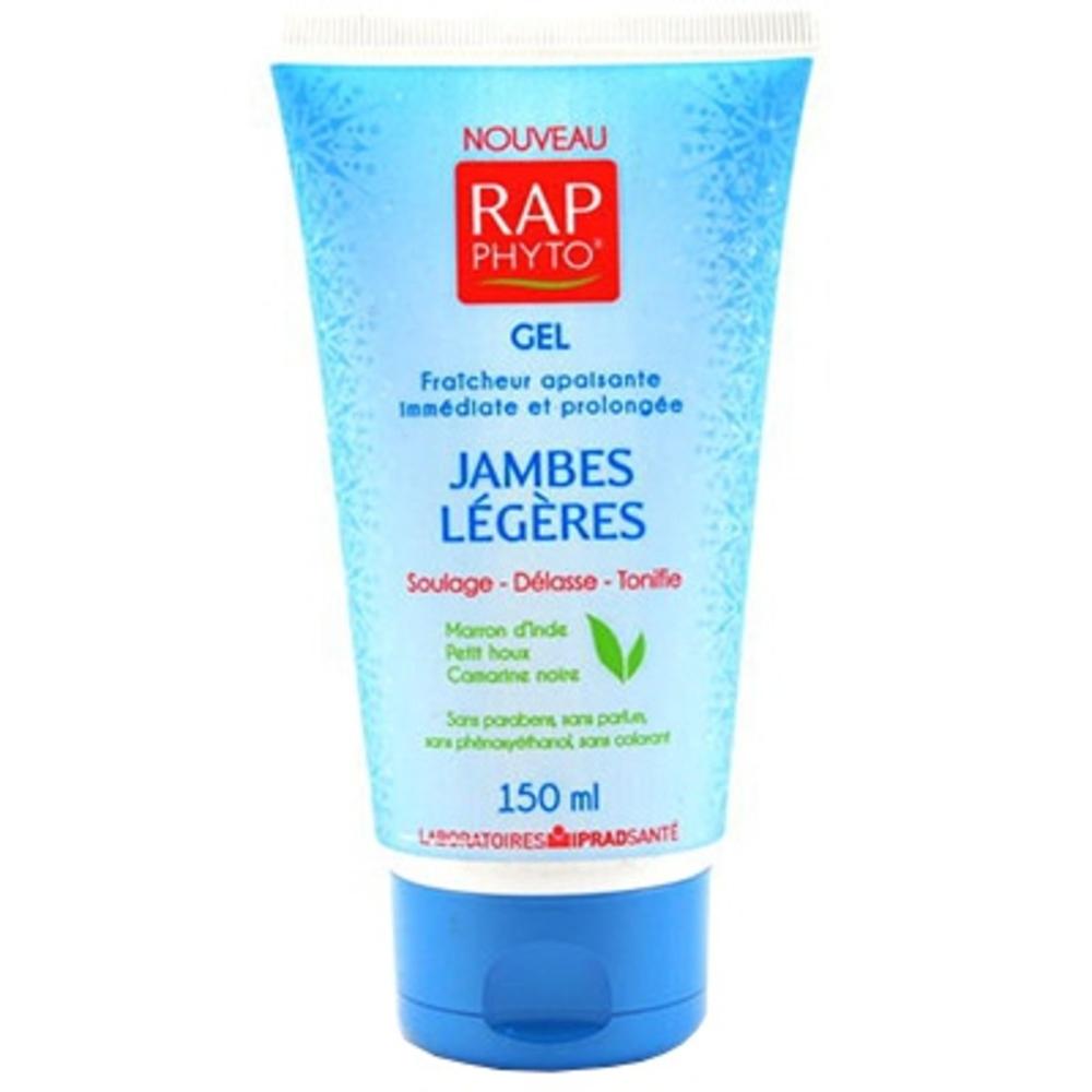 Rap phyto gel jambes légères - 150 ml - 150.0 ml - médecine nutritionnelle - phytothérapie - rap phyto -131347