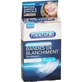 Rapid white 14 strips de blanchiment - rapid white -213894