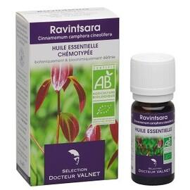 Ravintsara bio - 10.0 ml - les huiles essentielles bio - dr. valnet Stimulant des défenses-15167