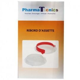 Rebord d'assiette blanc - pharma tecnics -210322