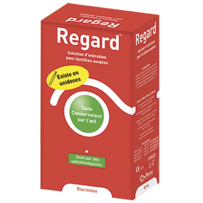 Regard solution d'entretien lentilles souples - 60ml Horus pharma-205000