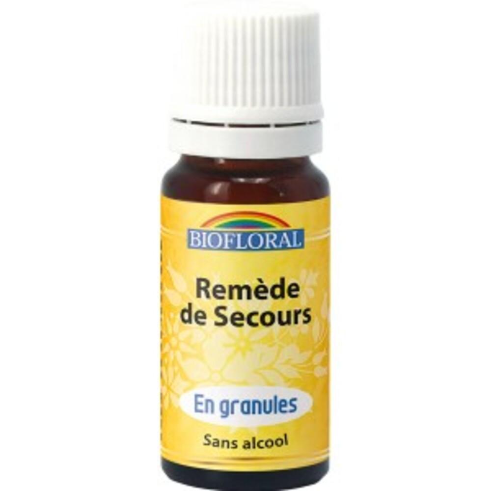 Remède de secours granules BIO - 10 g - divers - Biofloral -134078