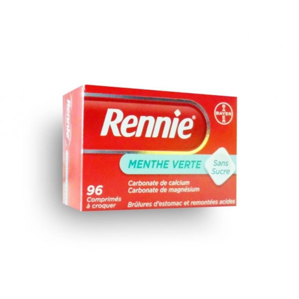 Rennie sans sucre - 96 comprimés - bayer -193091