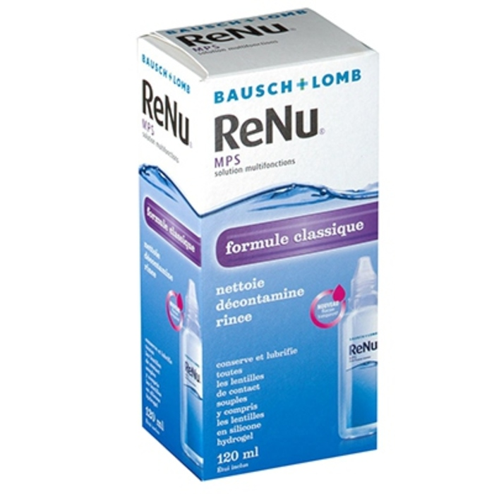 Renu mps solution multifonctions - 120ml Bausch & lomb-145798