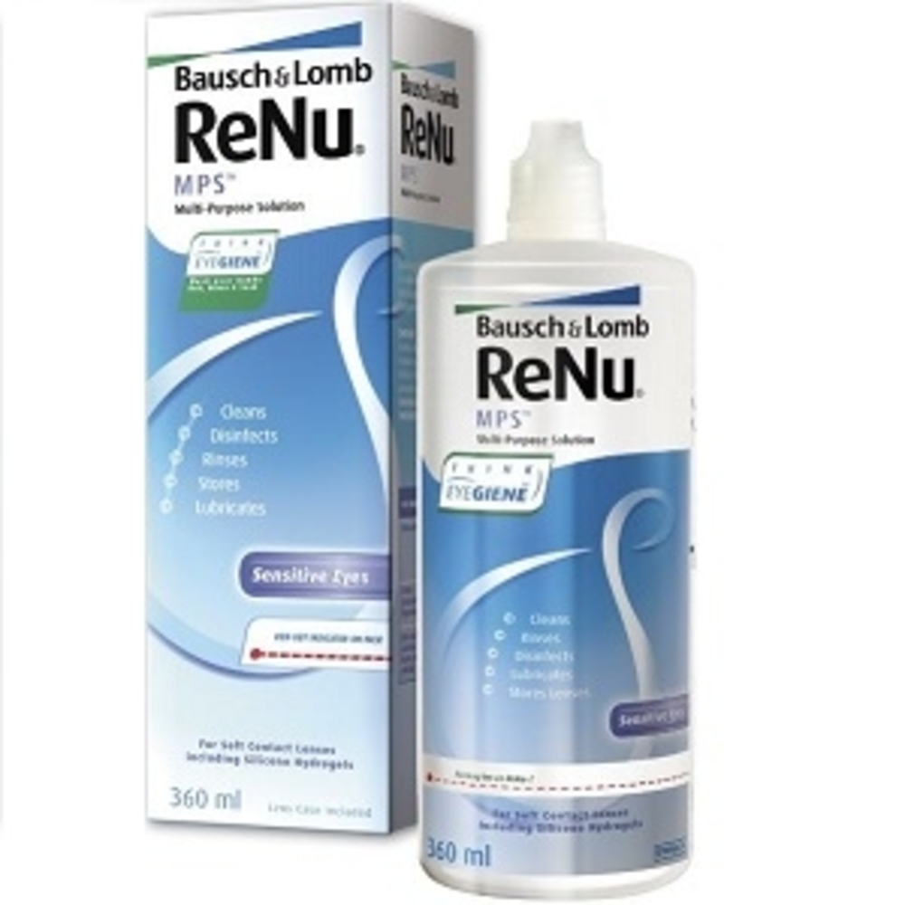 Renu mps solution multifonctions - 360ml - 360.0 ml - bausch & lomb -146010