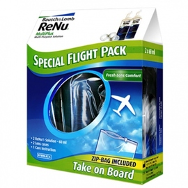 Renu mps solution multifonctions special flight pack - bausch & lomb -195737