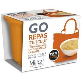 Repas minceur vanille caramel - 12.0 unites - repas express - milical -7372