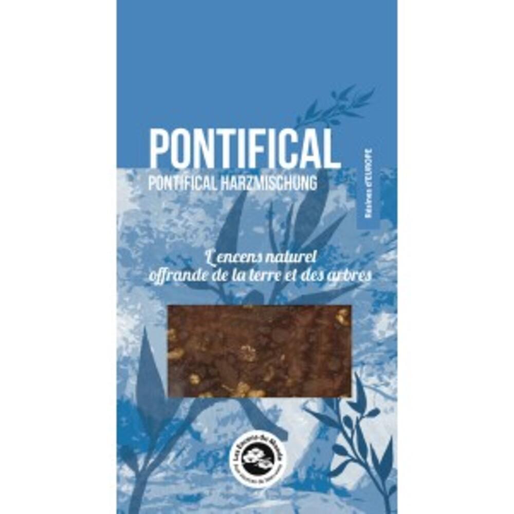 Résine aromatique, pontifical - sachet de 25 g - divers - florisens -135952