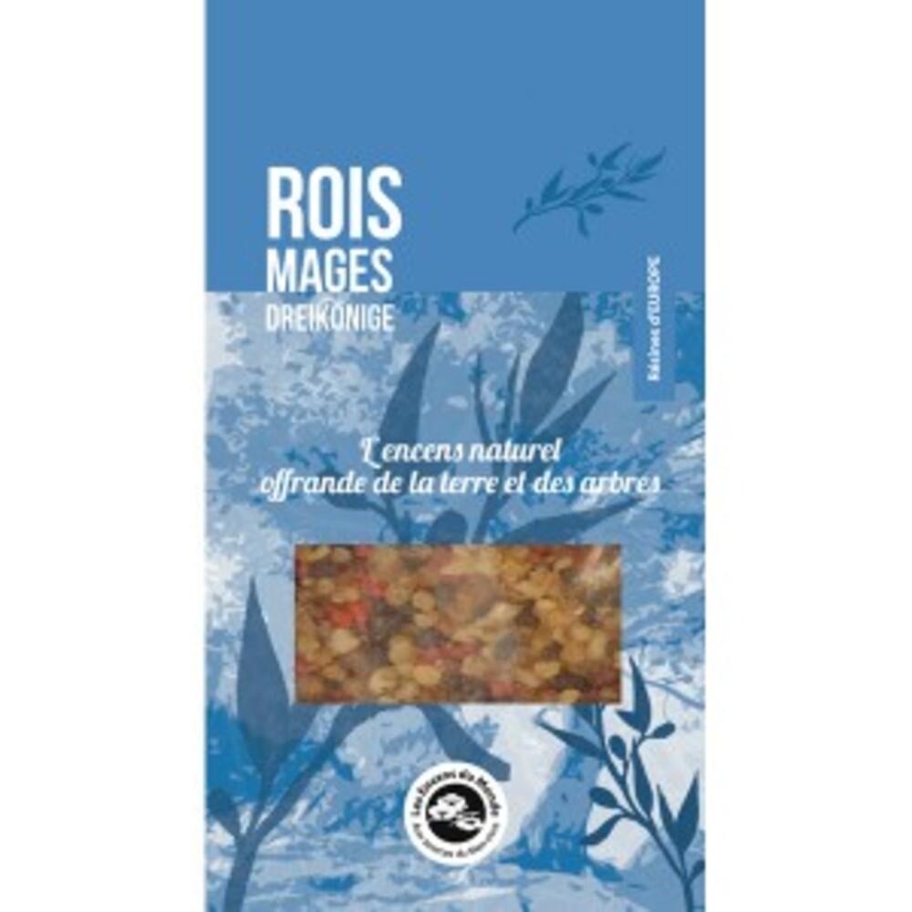 Résine aromatique, rois mages - sachet de 40 g - divers - florisens -135954