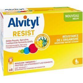 Resist resistance de l'organisme 8x10ml - alvityl -228743