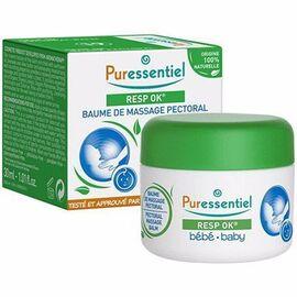 Resp ok baume de massage pectoral bébé 30ml - puressentiel -214996