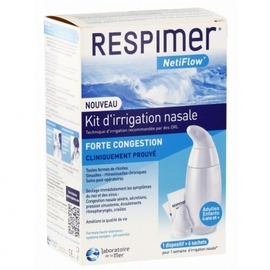 Respimer netiflow kit d'irrigation nasale - laboratoire de la mer -144907