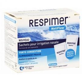 Respimer netiflow sachets pour irrigation nasale - laboratoire de la mer -144906