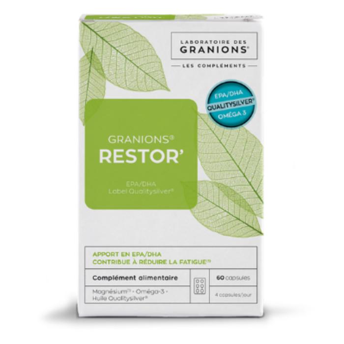 Restor' 60 capsules Granions-195319