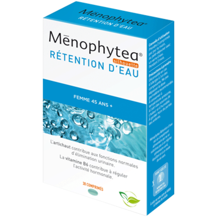 Rétention d'eau - 30 comprimés Menophytea-117809