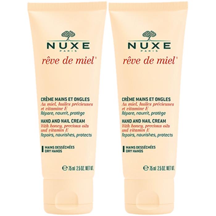 Rêve de miel crème mains et ongles lot 2 x 50ml Nuxe-205836