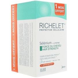Richelet anti-age cheveux - 3 x 30 capsules - richelet -205941
