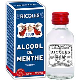 Ricqles alcool de menthe - 100ml - 100.0 ml - historique - ricqles -131976