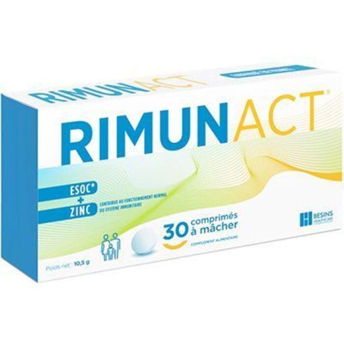 Rimunact système immunitaire 30 comprimés Besins healthcare-224436
